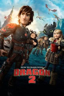 How to Train Your Dragon 2 playing at the Basin Drive-In