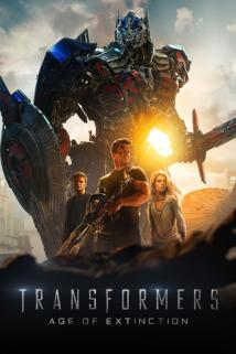 Transformers: Age of Extinction playing at the Basin Drive-In