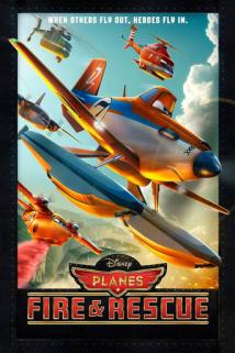 Planes: Fire & Rescue playing at the Towne