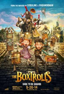 The Boxtrolls playing at the Casino Star
