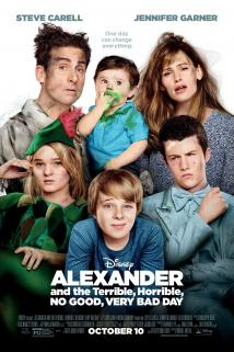 Alexander and the Terrible, Horrible, No Good, Very Bad Day playing at the Towne