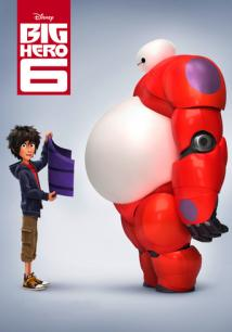 Big Hero 6 playing at the Towne