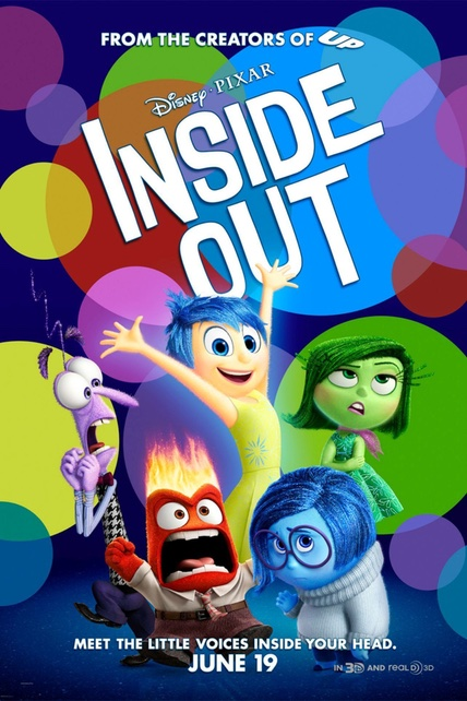 Inside Out playing at the Basin Drive-In