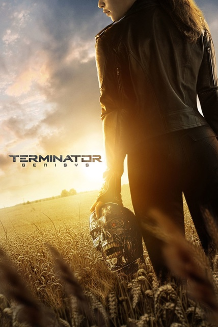 Terminator Genisys playing at the SouthTowne
