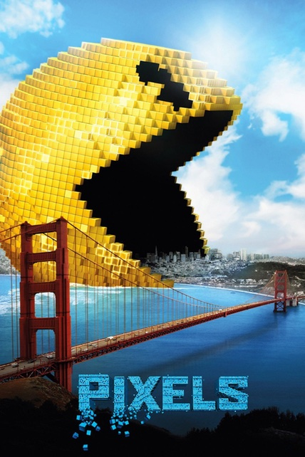Pixels playing at the SouthTowne