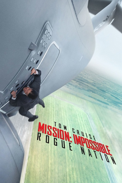 Mission: Impossible - Rogue Nation playing at the Basin Drive-In