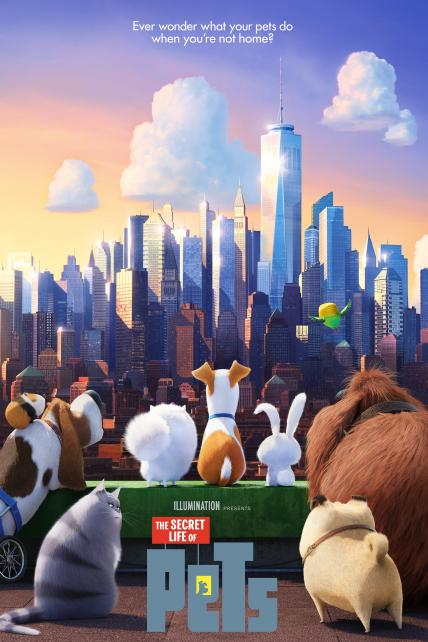 The Secret Life of Pets playing at the Basin Drive-In