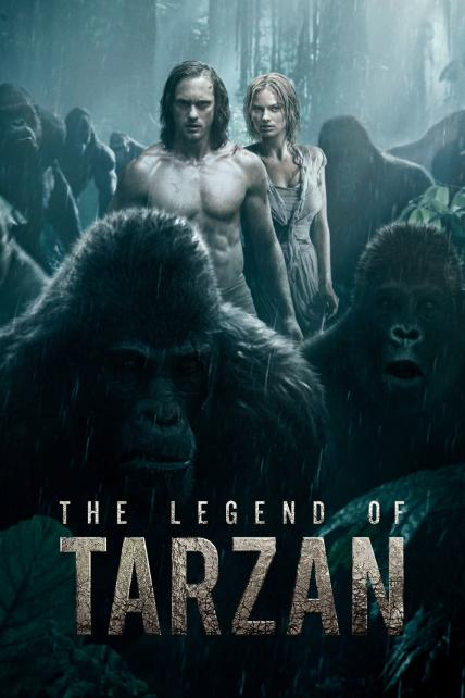 The Legend of Tarzan playing at the Basin Drive-In