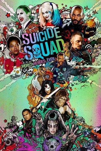 Suicide Squad playing at the Basin Drive-In
