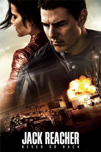 Jack Reacher: Never Go Back playing at the SouthTowne