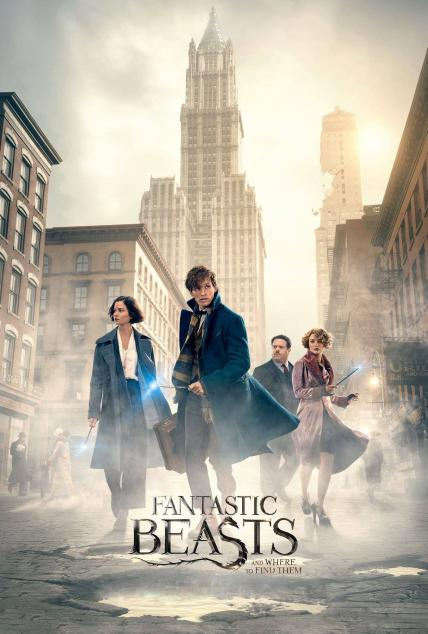 Fantastic Beasts and Where to Find Them playing at the SouthTowne