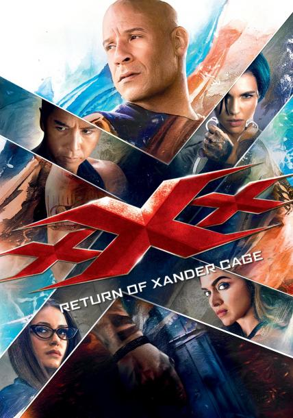 xXx: Return of Xander Cage playing at the SouthTowne
