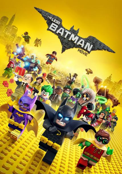 The LEGO Batman Movie playing at the Towne