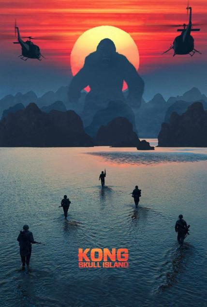 Kong: Skull Island playing at the SouthTowne