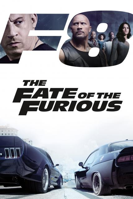 The Fate of the Furious playing at the Casino Star