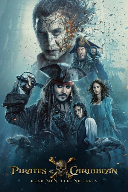 Pirates of the Caribbean: Dead Men Tell No Tales playing at the Casino Star