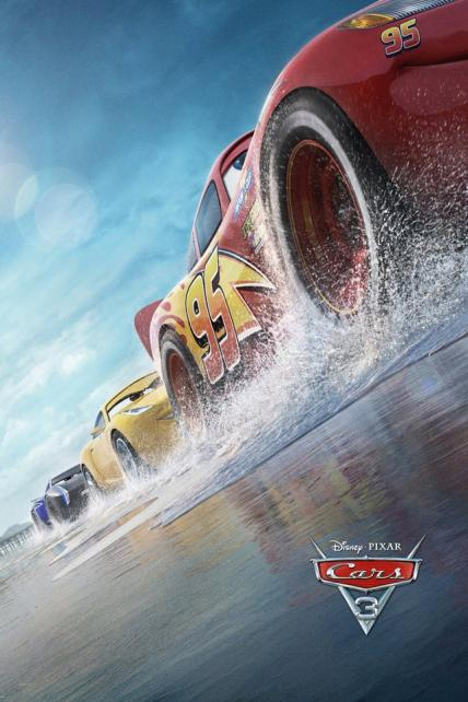 Cars 3 playing at the SouthTowne