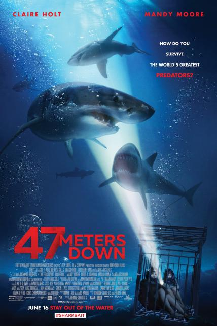 47 Meters Down playing at the Basin Drive-In
