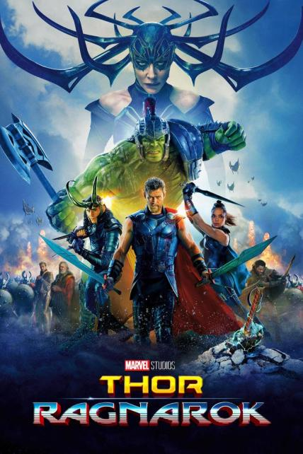 Thor: Ragnarok playing at the SouthTowne