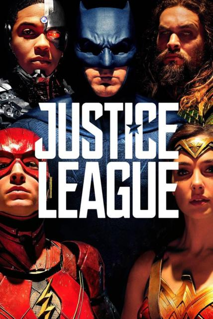 Justice League playing at the SouthTowne