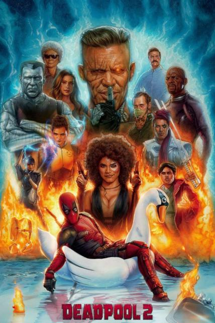 Deadpool 2 playing at the Towne
