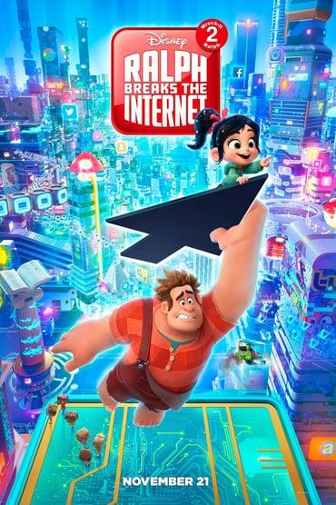Ralph Breaks the Internet playing at the Towne