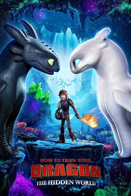 How to Train Your Dragon: The Hidden World playing at the Basin Drive-In