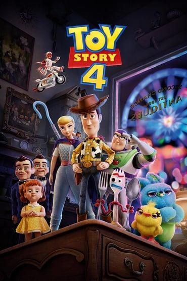 Toy Story 4 playing at the Basin Drive-In