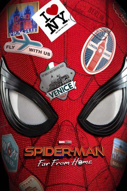 Spider-Man: Far from Home playing at the SouthTowne