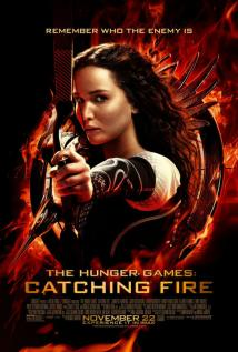The Hunger Games: Catching Fire playing at the Casino Star